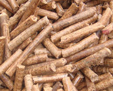 coconut shell pellets