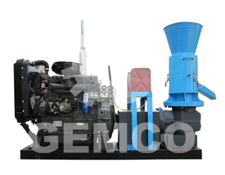 rice straw pellet mill